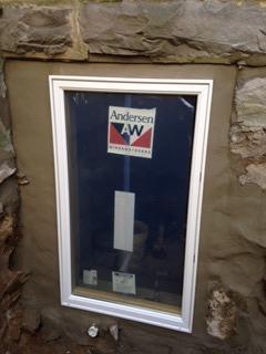 Basement Window Installation in Philadelphia, PA - After Photo