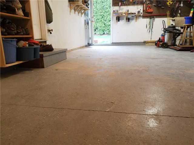 Homeowner in Easton, PA Solves Sinking Concrete Garage Floor