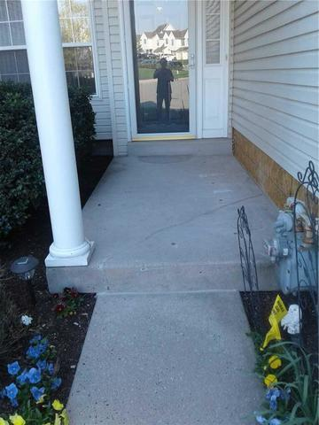 Lopsided Concrete Steps in Chalfont, PA