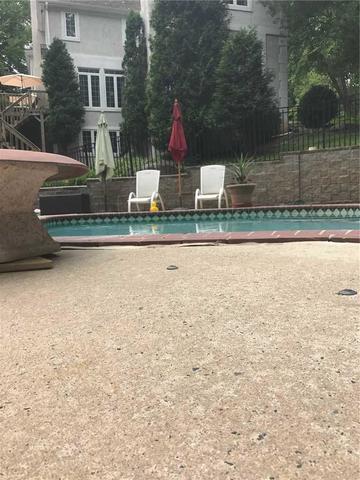 Sinking Poolside Concrete in Berwyn, PA