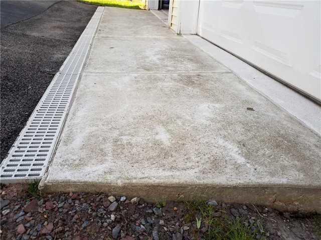Uneven Concrete Garage Entrance in Ringoes, NJ
