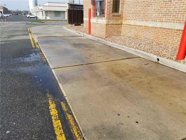 Drive Thru with Uneven Concrete in Phillipsburg, NJ