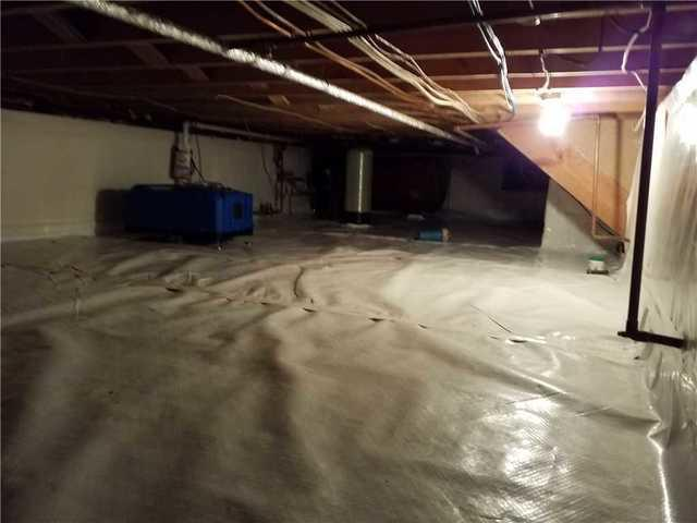 Wet Crawlspace in Audubon, PA