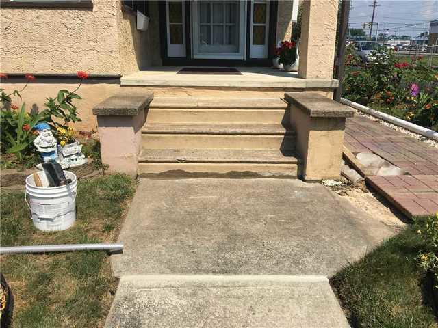 Lopsided Concrete Steps in Glenolden, PA