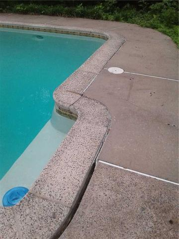 Sinking Pool Deck in Lansdale, PA
