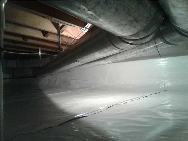 Wet CrawlSpace in Glenside, PA