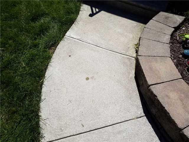 Sinking Concrete Walkway in West Chester, PA