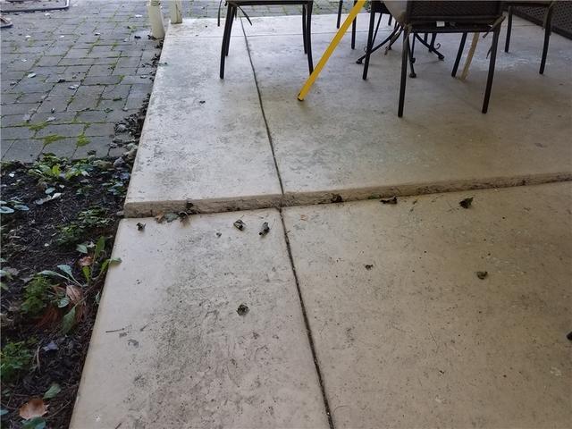 Uneven Concrete Patio in Fort Washington, PA