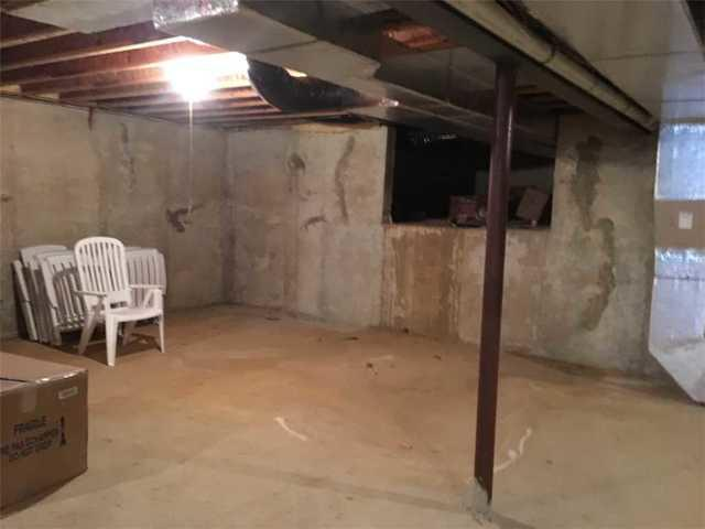 Wet Basement in West Chester, PA - Before Photo