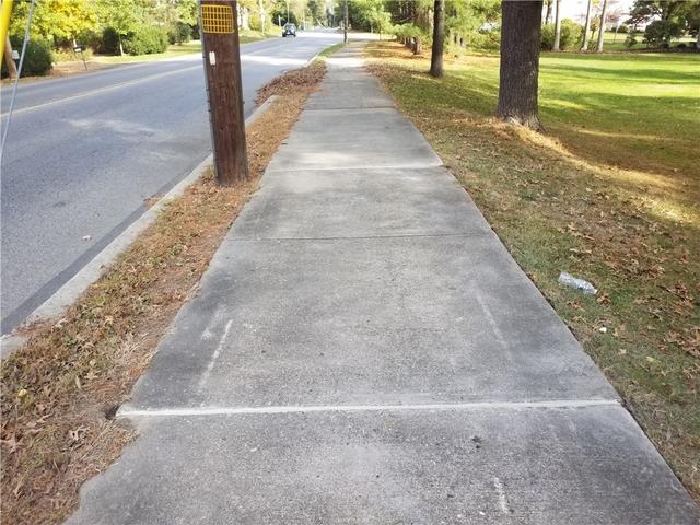 Uneven Concrete Sidewalk in Yardley, PA