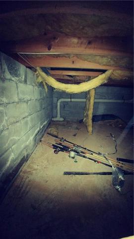 Damp Crawl Space in Exton, PA