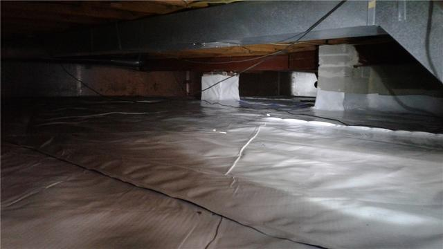 Moisture Leakage in Wayne, PA Crawl Space
