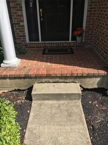 Sinking Concrete Step in Phoenixville, PA