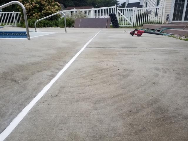 Sinking Concrete by Mullica Hill, NJ Pool Deck