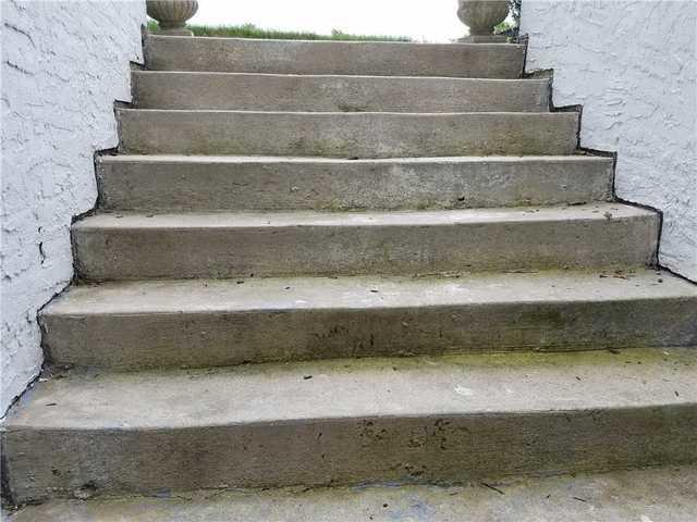 Sinking Concrete Steps in Newtown PA