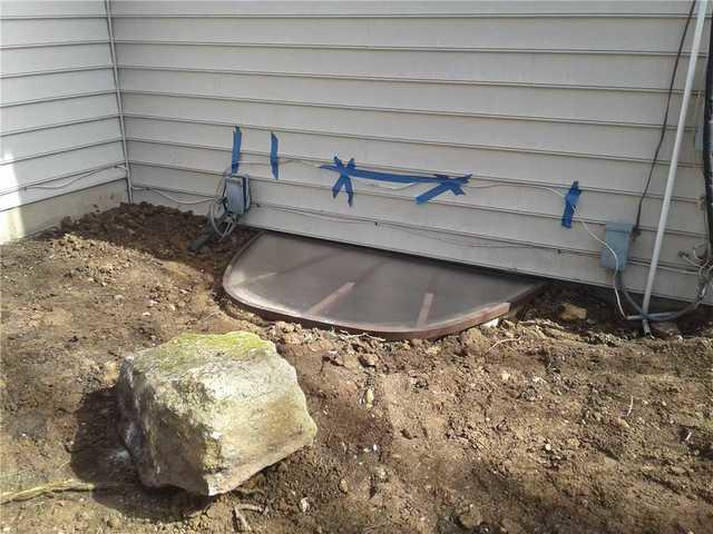 Egress Window Installation in Hilltown, Pa