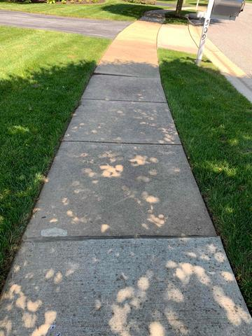 Concrete Leveling in New Providence, Pa - Before Photo