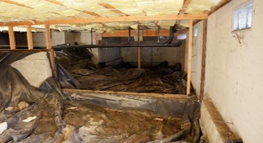 Crawl Space in Montgomery County, PA
