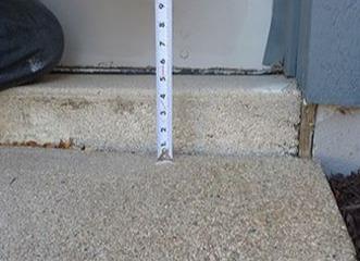 Concrete Leveling Poly Job in Trenton, NJ