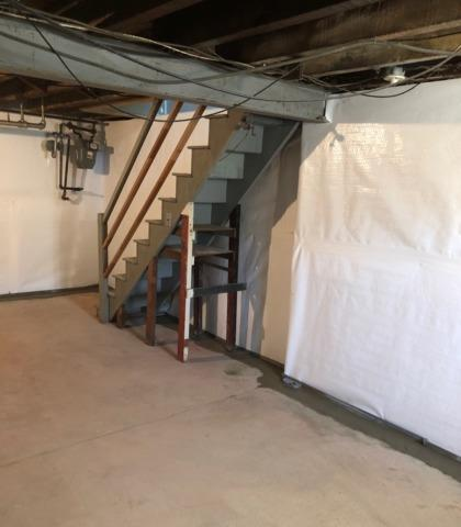 Wilmington, DE Basement Waterproofing - After Photo