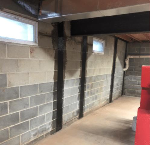 Foundation Repair with CarbonArmor in Mohnton, PA