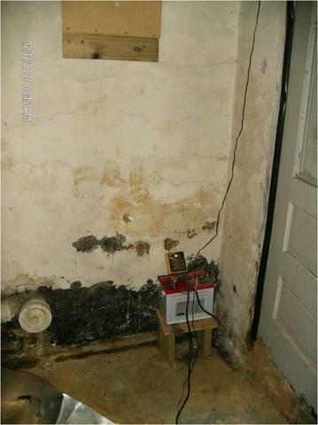 Waterproofed Bryn Athyn, PA Basement - Before Photo
