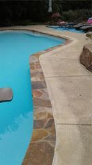 Sinking Concrete Pool Deck in New Hope, PA