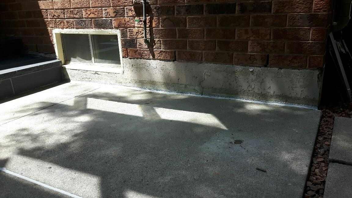 Lifting a Concrete Slab in Milton, ON - After Photo