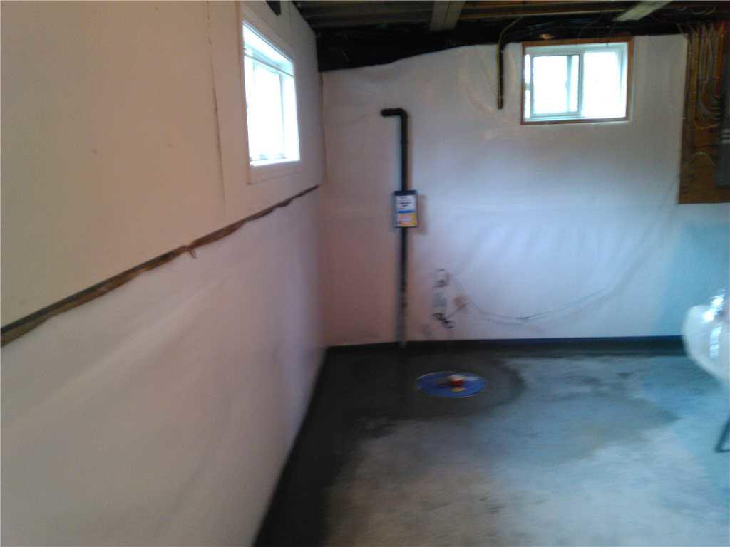 Wet Basement Solution in Priceville, ON - After Photo