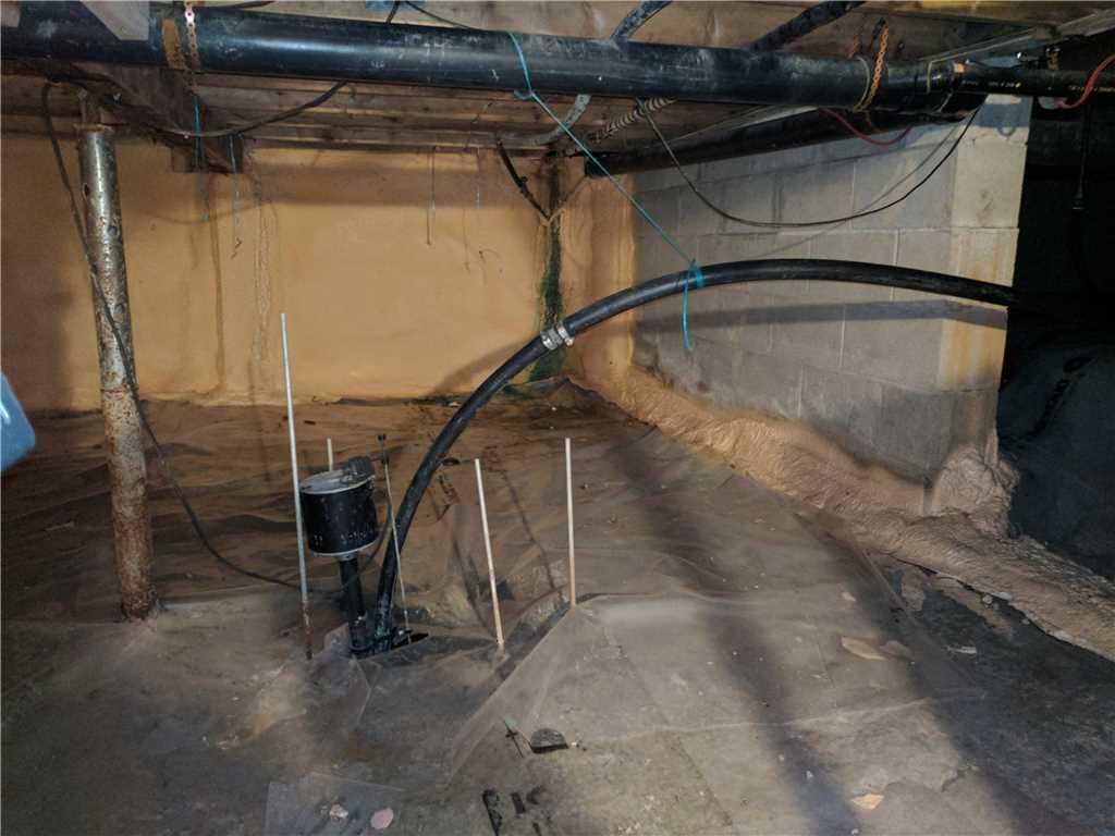 Crawlspace Renewal in Meaford, ON - Before Photo