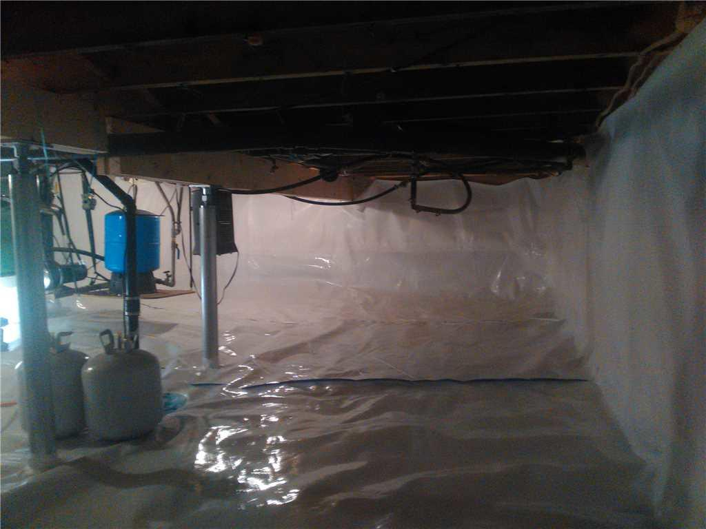 Crawlspace Renewal in Meaford, ON - After Photo