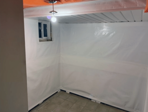 Leaking Cold Room Ceiling in Mississauga, Ontario - After Photo