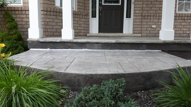 Front Entrance Step Lift in Oakville, ON - After Photo