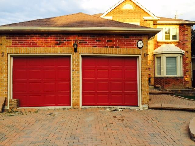 Garage Frost Heave Damage Repair In Newmarket, ON