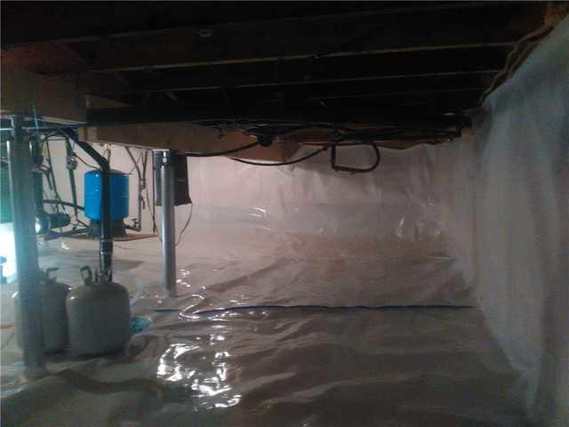 Crawlspace Renewal in Meaford, ON