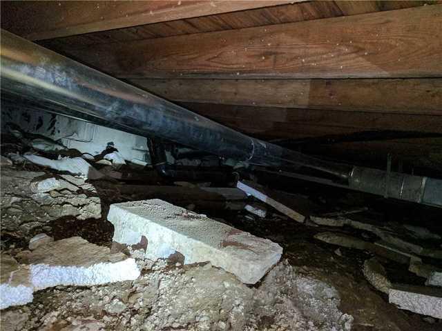 Creepy Crawlspace in Innisfil, ON