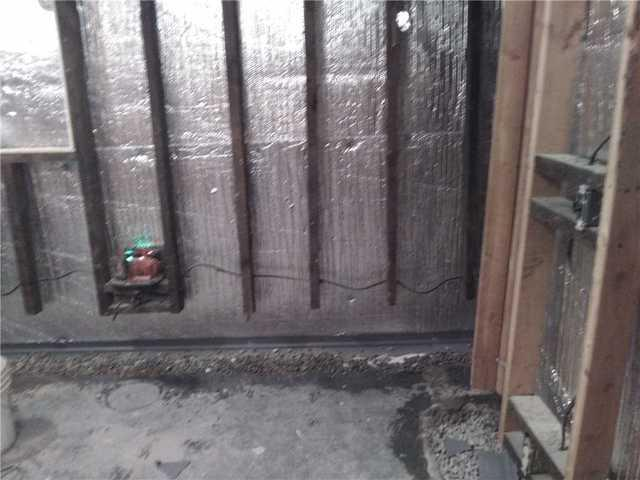 Fixing a Previous Waterproofing Job in Blackstock, ON
