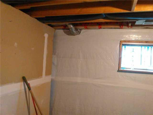 Leaking Wall in a Basement Apartment in Caesarea, ON