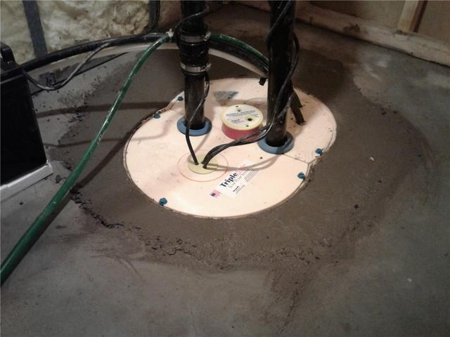 Constant Basement Flooding Solution in Newtonville, ON