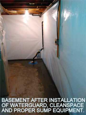 Leaking Basement in Pefferlaw, ON