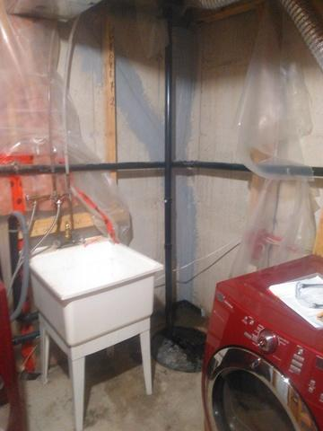 Quick Fix for Leaking Crack in Barrie, ON