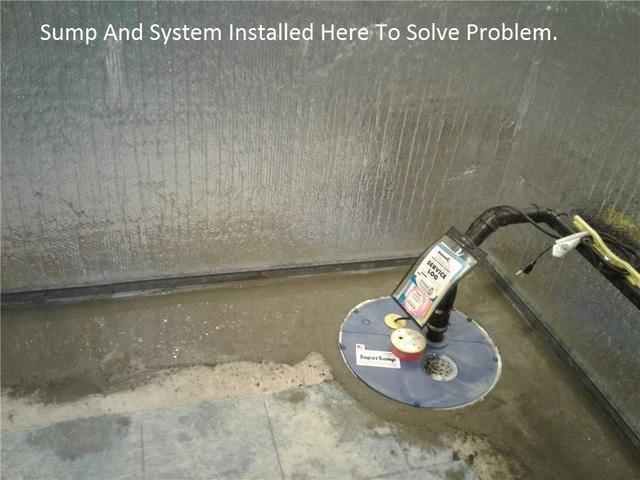 Solution to a Leaky Basement in Markham, ON
