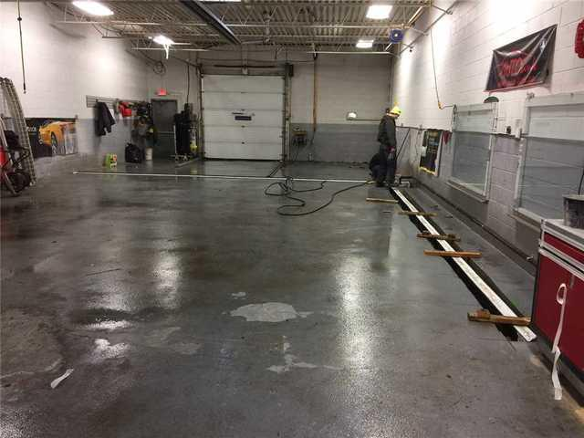Melting Snow Causes Surface Water in Repair Shop in Toronto, ON