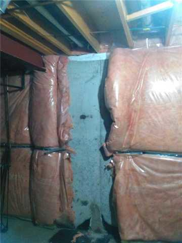 Crack in Foundation Wall Caused a Flooded Basement in Pickering ON