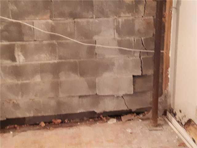 Basement Wall Caving in & Water Seepage in Greenbank, ON
