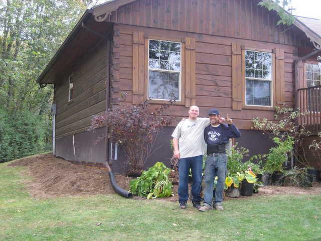 Log Cabin Settles Five Inches in Norland, ON