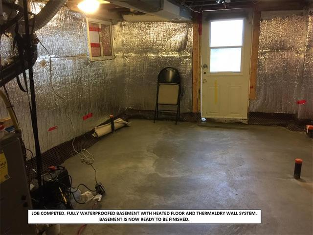 Waterproofing a Basement to Renovate in Toronto, ON