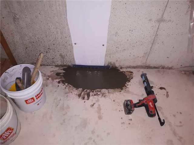 Easy Repair for Leaking Basement Crack in Stouffville, ON