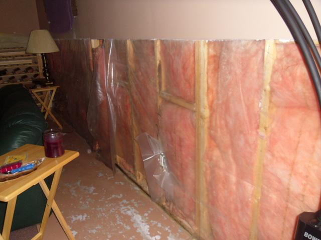 Waterproofing an Unhealthy Basement in Angus, ON