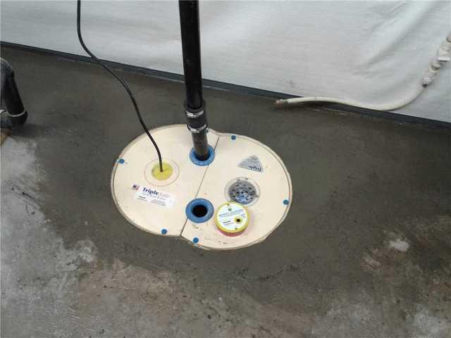 Waterproofing Systems and Updated Sump Pump in New Lowel, ON